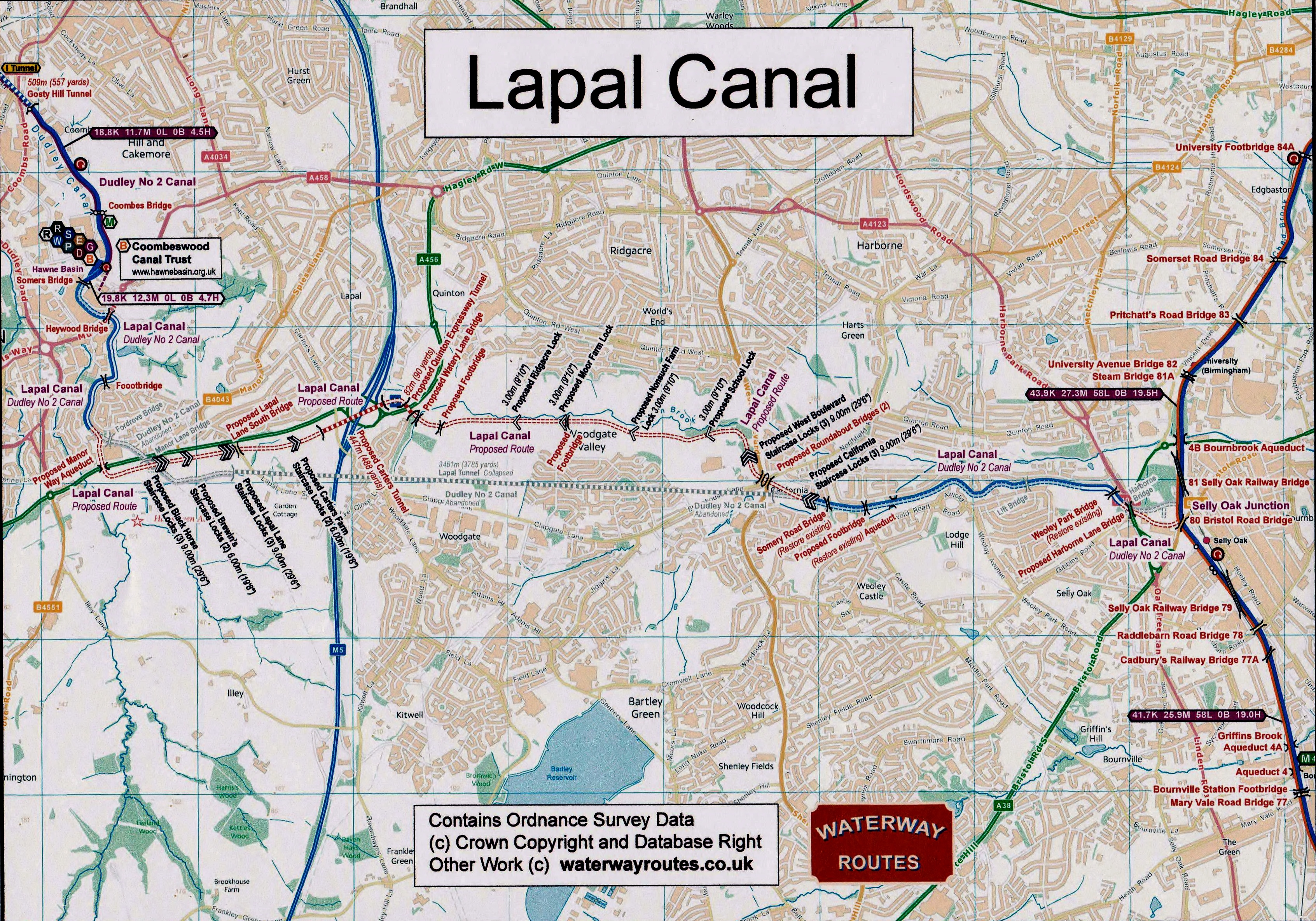 Lapal Canal Map