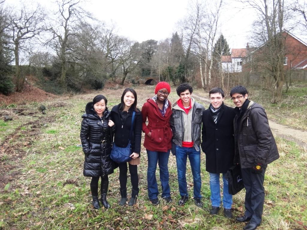Warwick Students visit Lapal Canal