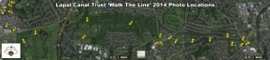 Walk the Line 2015 - lapal Canal Resoration