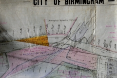 15. Area of Tracing Dated 6th feb 1928 (New Harborne Lane Bridge over old one)