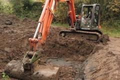 3 removing soil