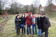 Warwick Students visit Lapal Canal